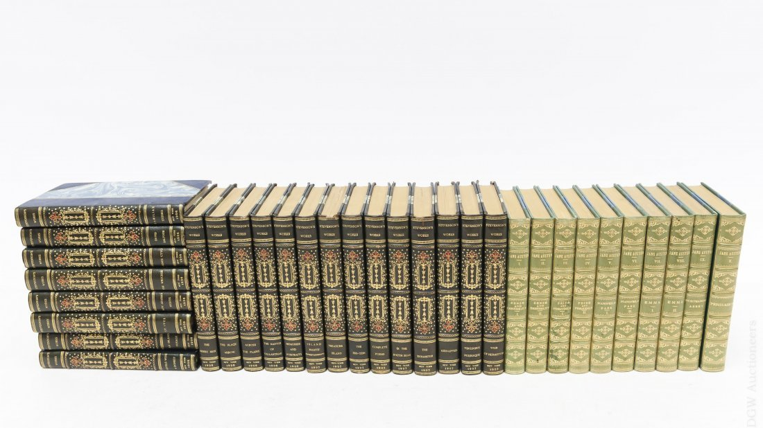 (2) Early 20th C. Poetry Sets.