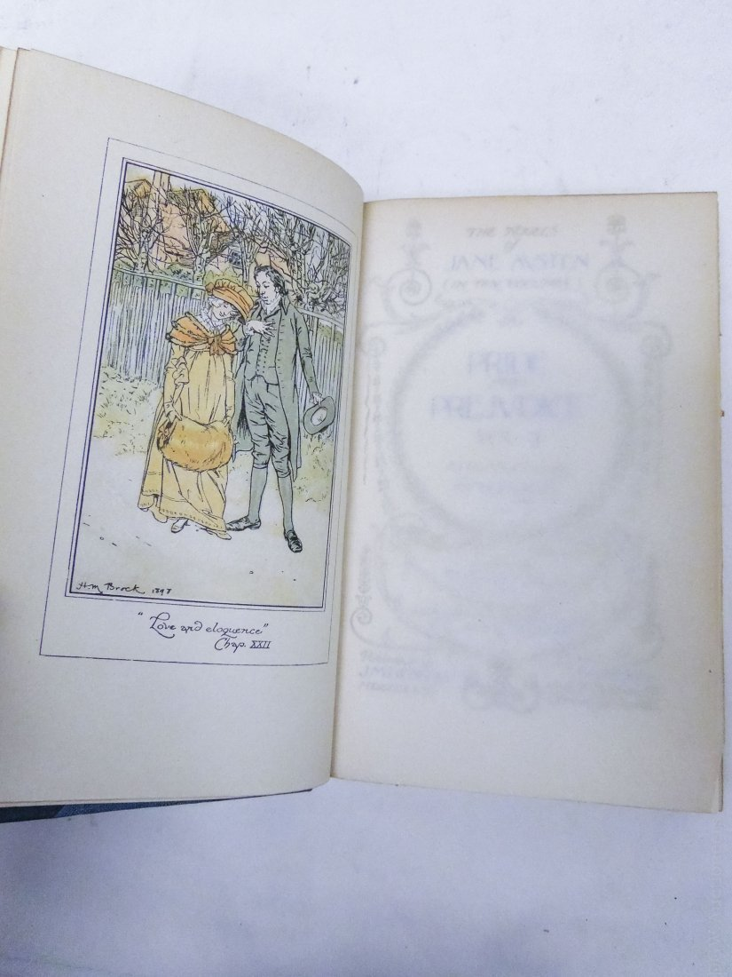 (2) Early 20th C. Poetry Sets. - 5