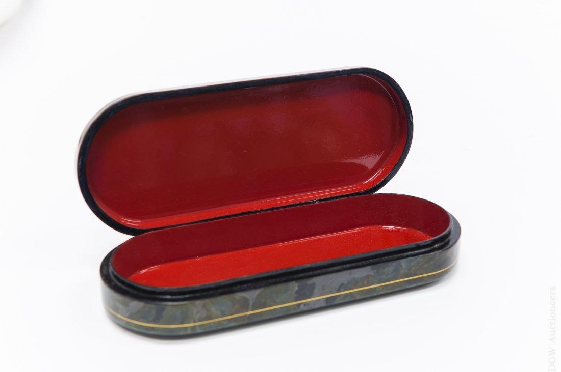 Russian Fedoskino Lacquer Box. - 4