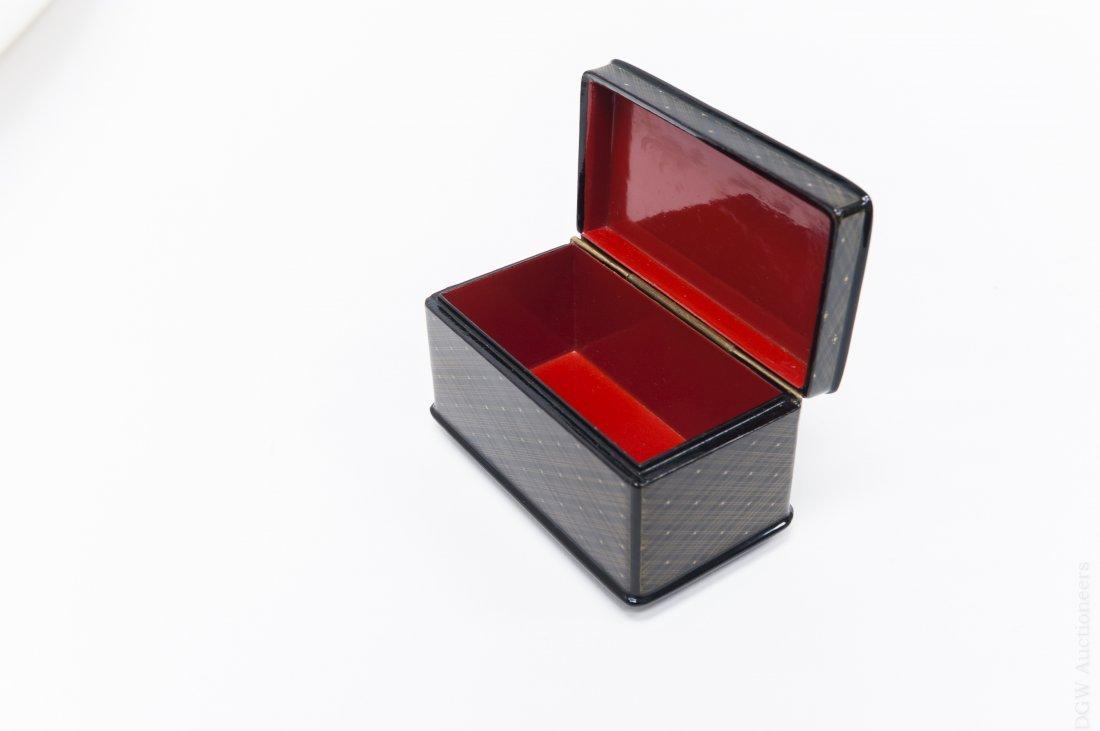 Fedoskino Russian Lacquer Box. - 2