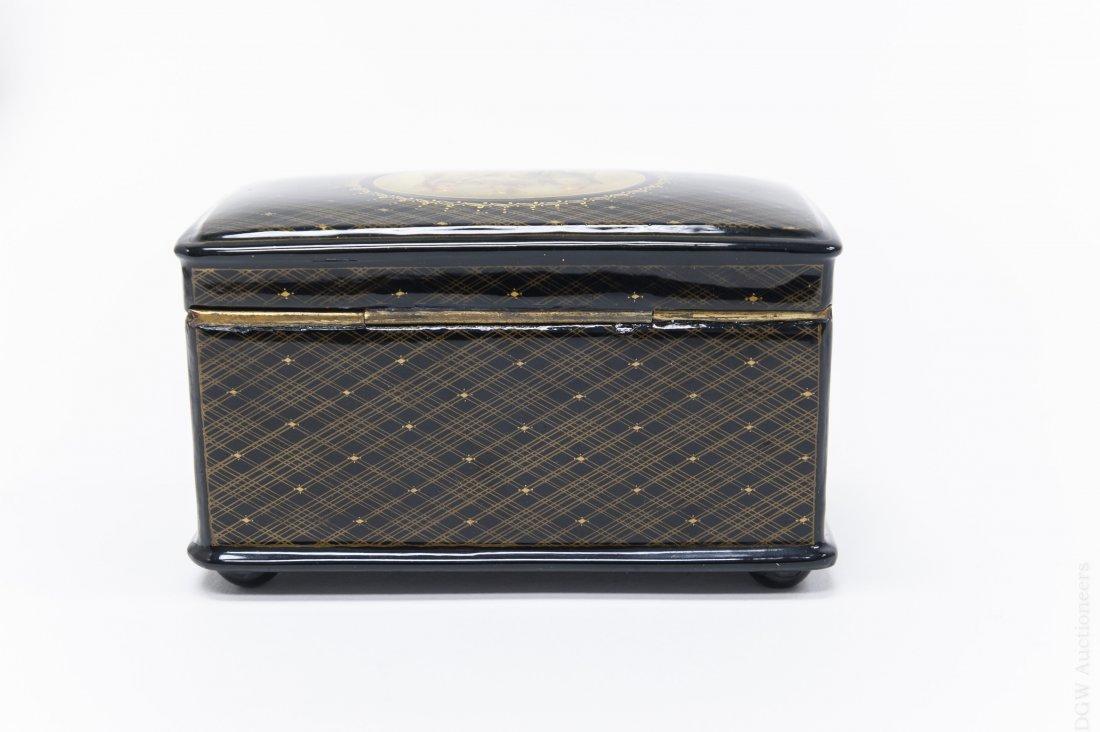 Fedoskino Russian Lacquer Box. - 3