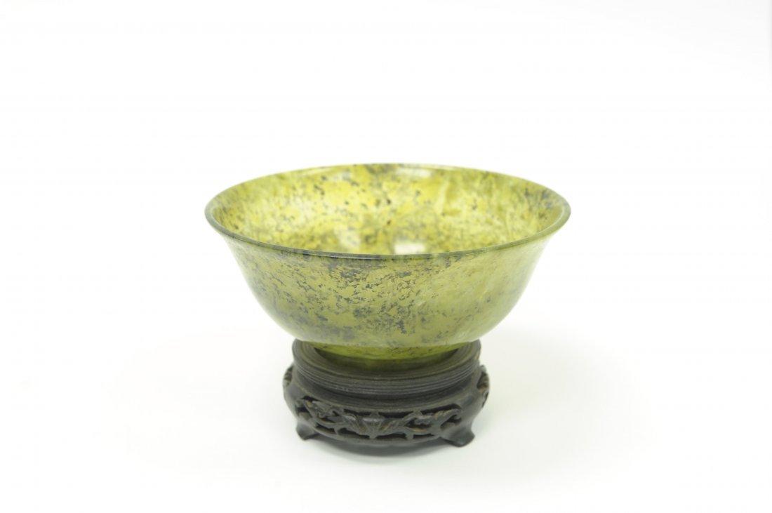 Chinese Spinach Jade Bowl.