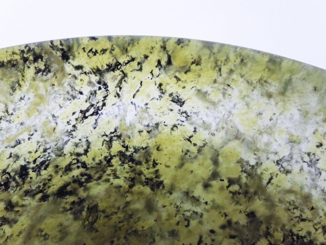 Chinese Spinach Jade Bowl. - 6