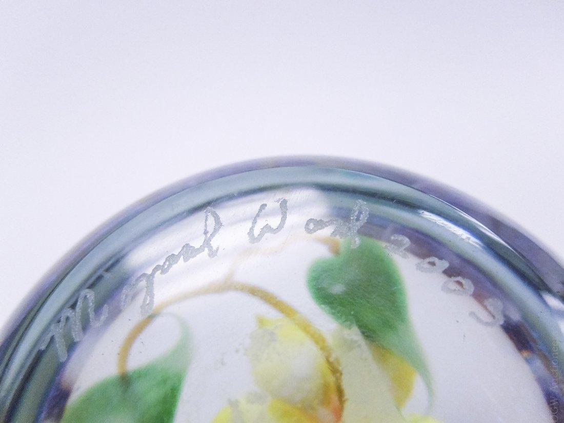 (4) Mayauel Ward Art Glass Paperweights. - 4
