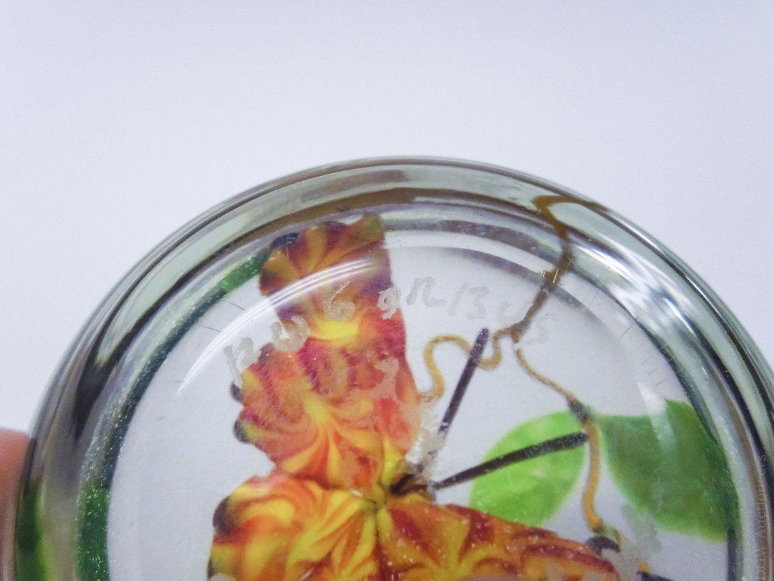 (4) Mayauel Ward Art Glass Paperweights. - 9