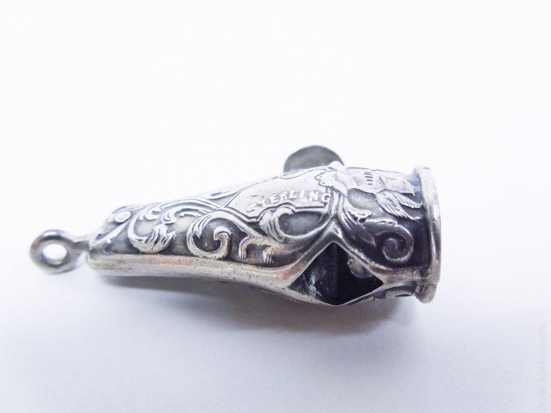 (10) Vintage Sterling Silver Cigar Cutters. - 3