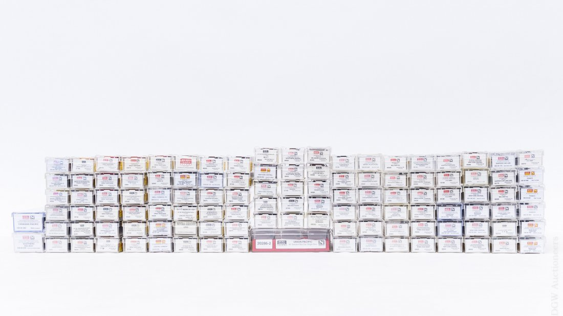 Collection of (114) Micro-Trains 'N' Scale Cars. - 2