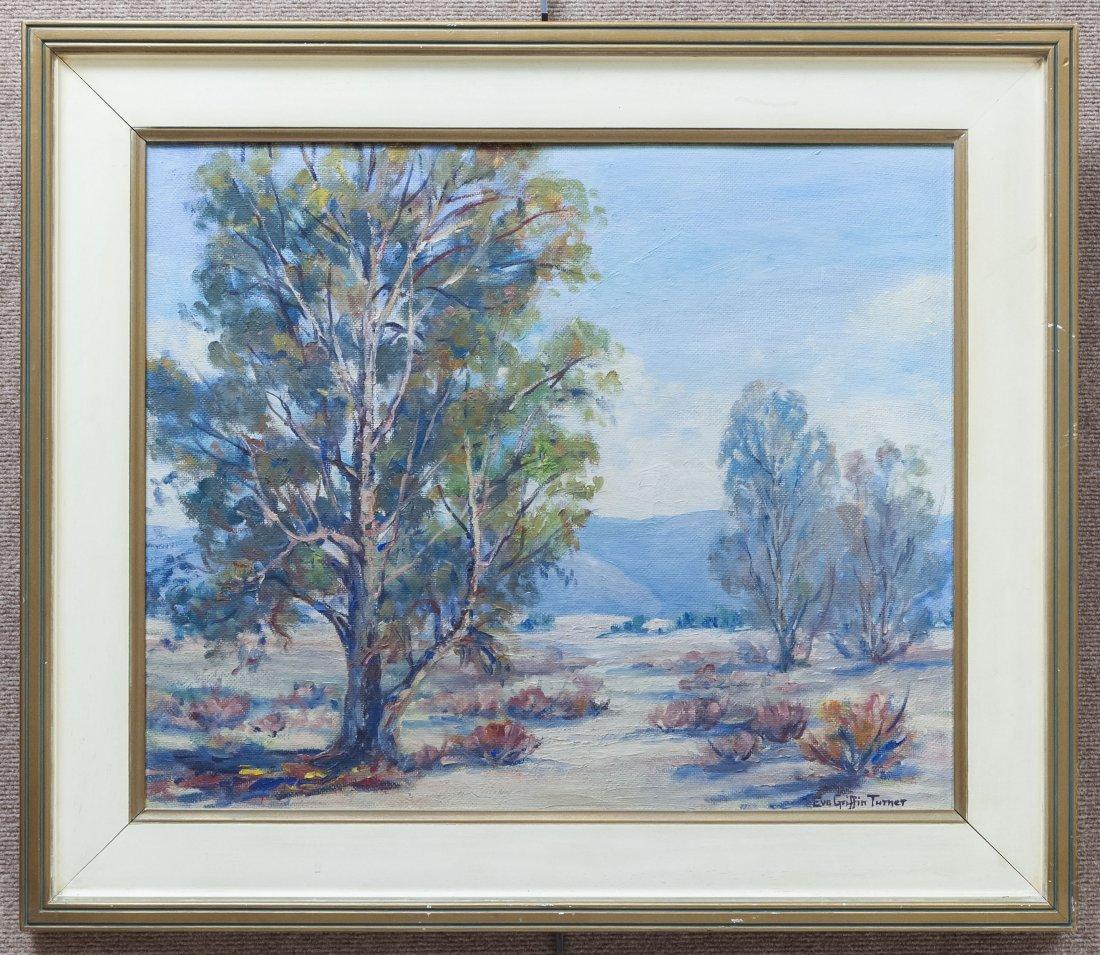 Eva Turner Oil on Board, Landscape.