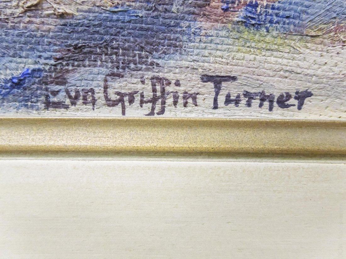 Eva Turner Oil on Board, Landscape. - 2