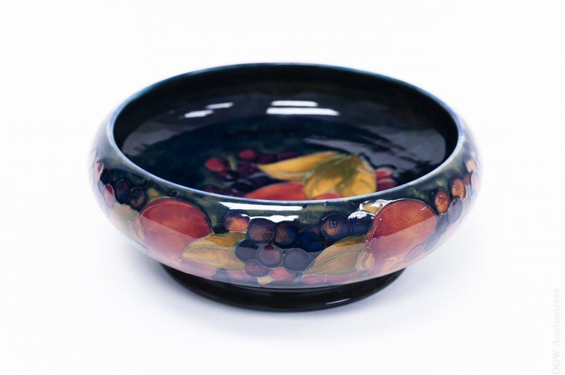 Moorcroft Art Pottery Fruit Bowl.
