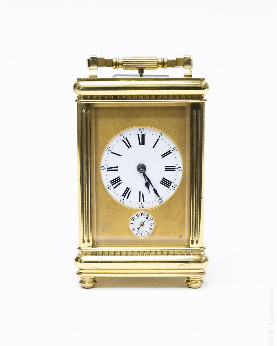 Aiguilles French Carriage Clock.