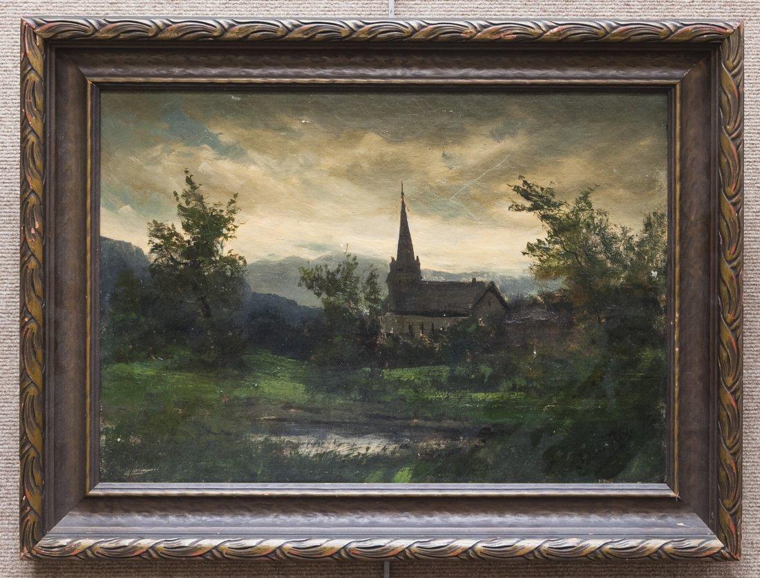 Julian Rix Oil on Canvas.