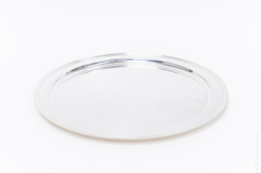 Tiffany & Co. Sterling Silver Tray.
