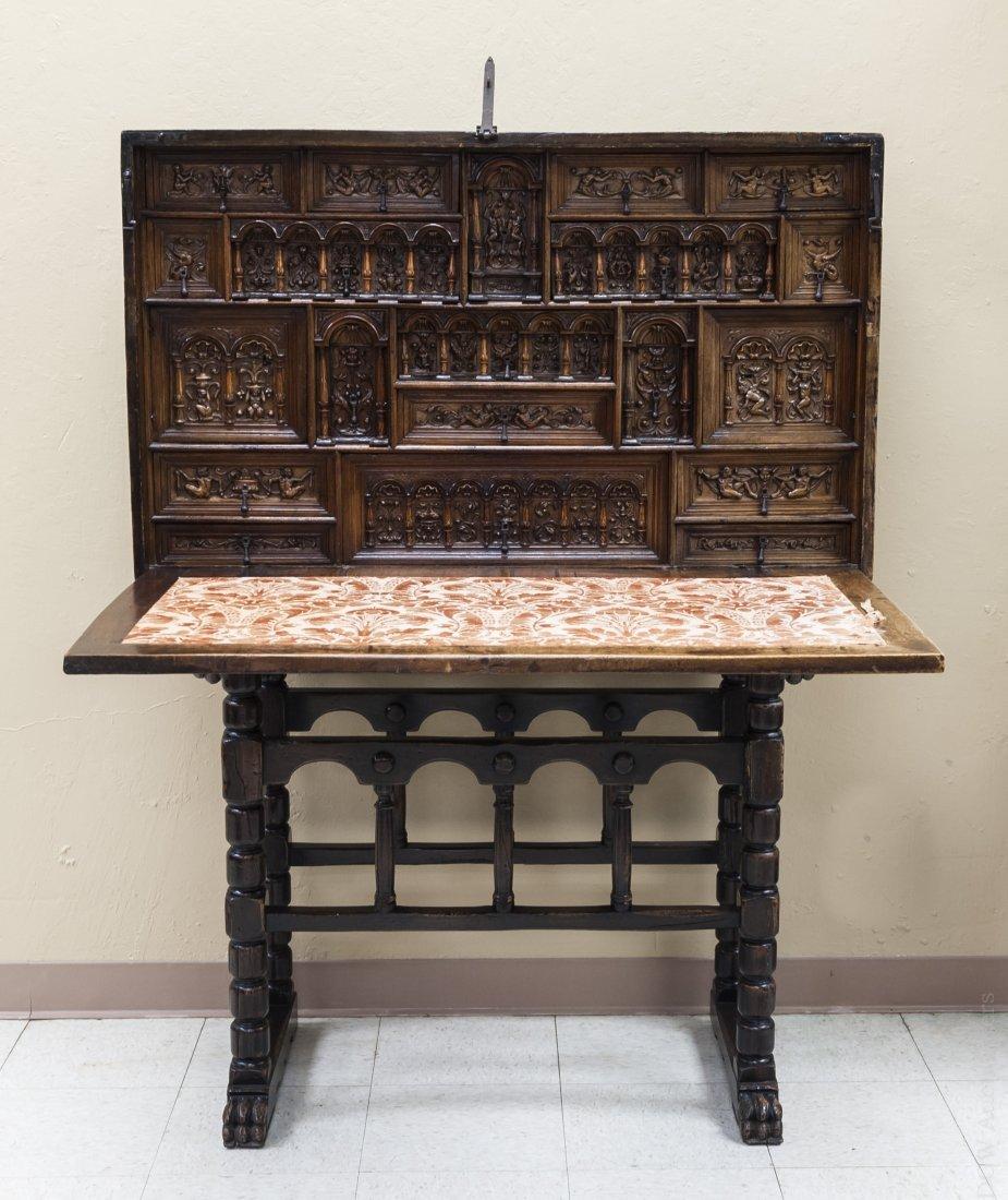 19th C. Spanish Vargueno Cabinet.