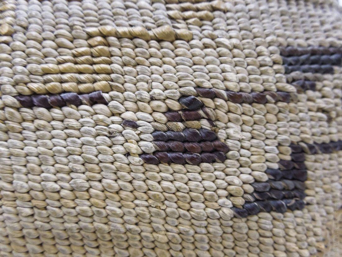 (2) Native American Hand Woven Baskets. - 7