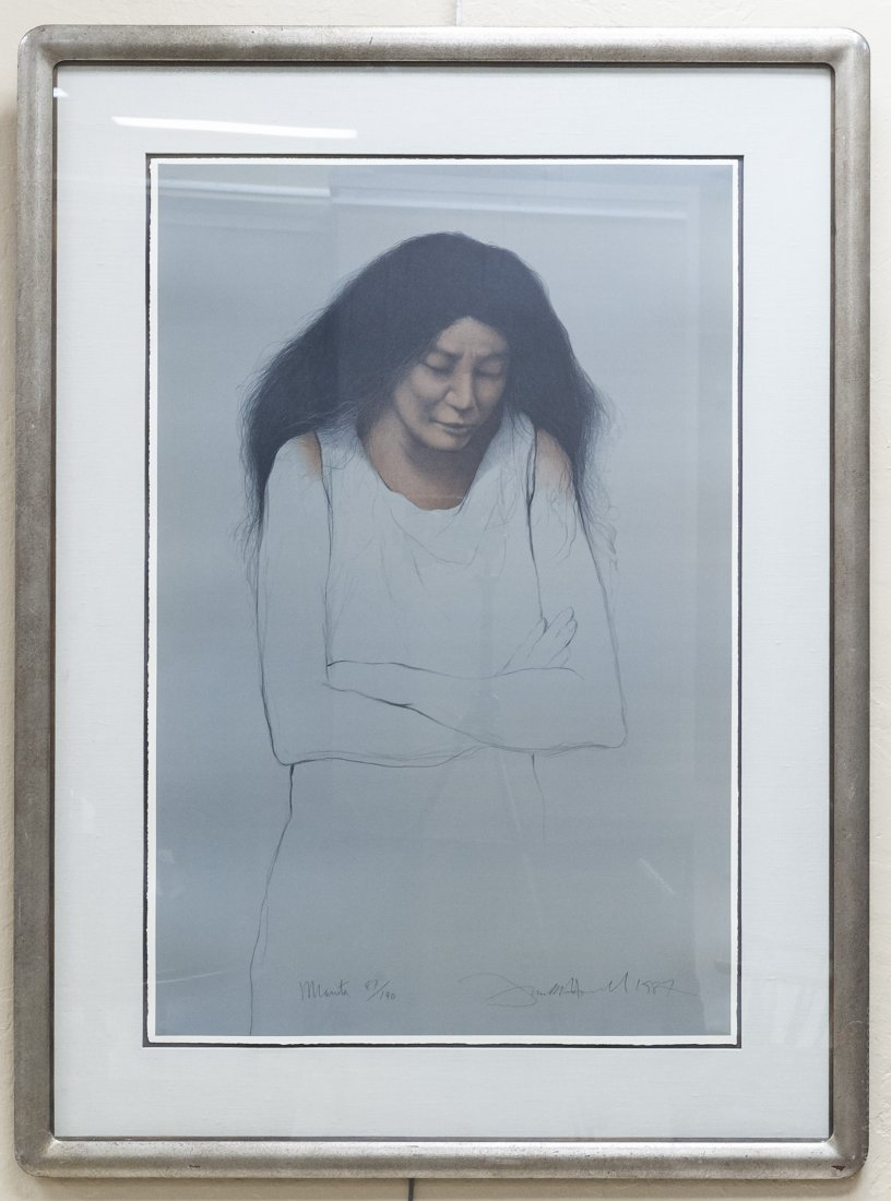 Frank Howell Limited Edition Lithograph.