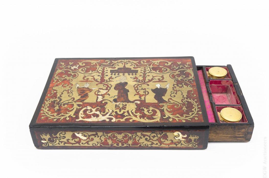 19th C. Inkwell Box.