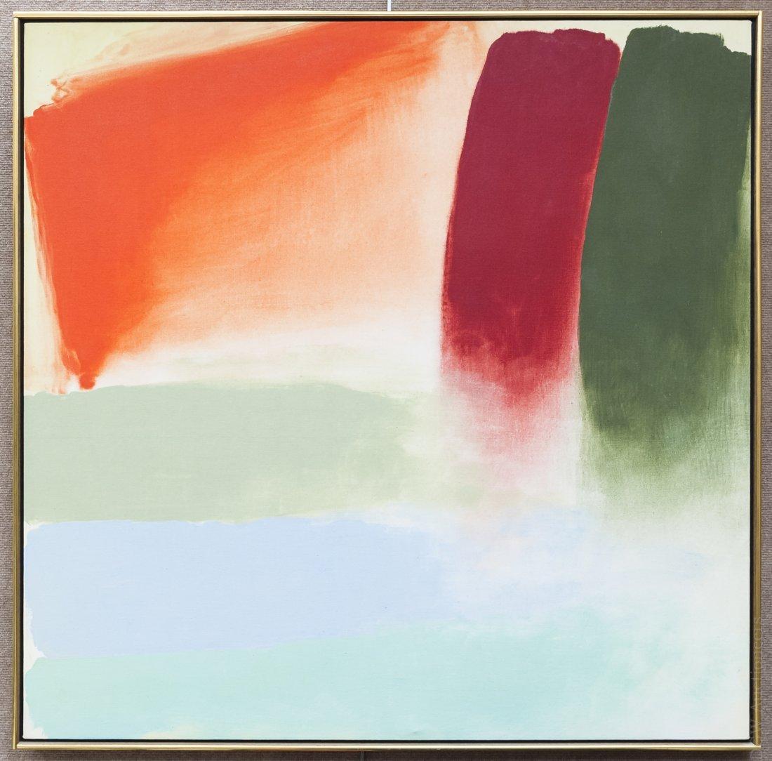 Friedel Dzubas Acrylic on Canvas.