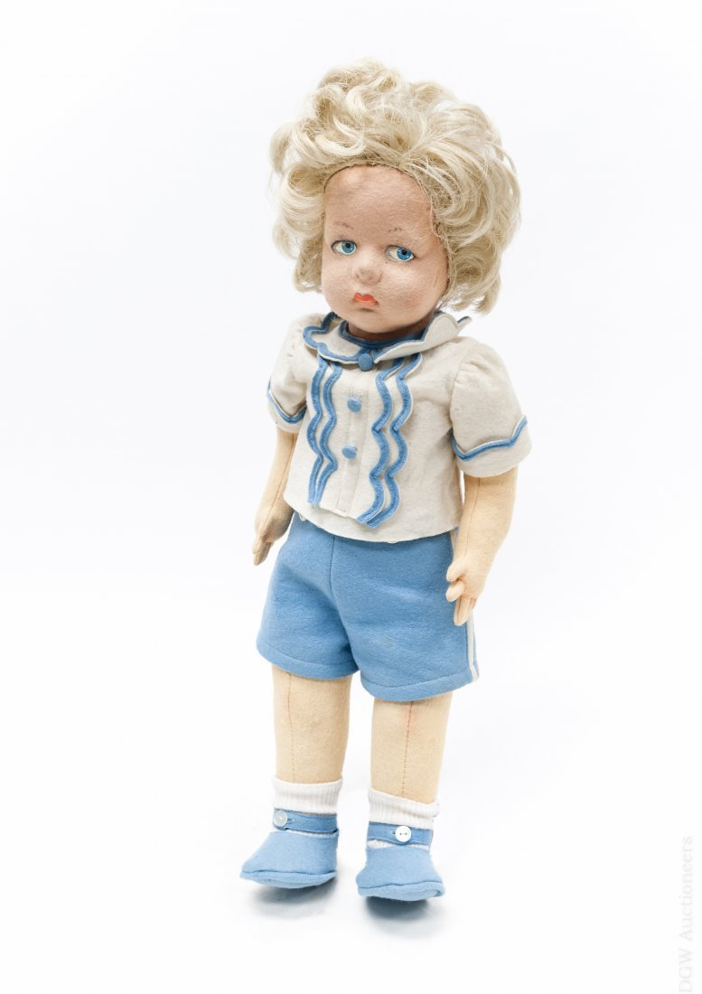 Lenci Felt Doll.