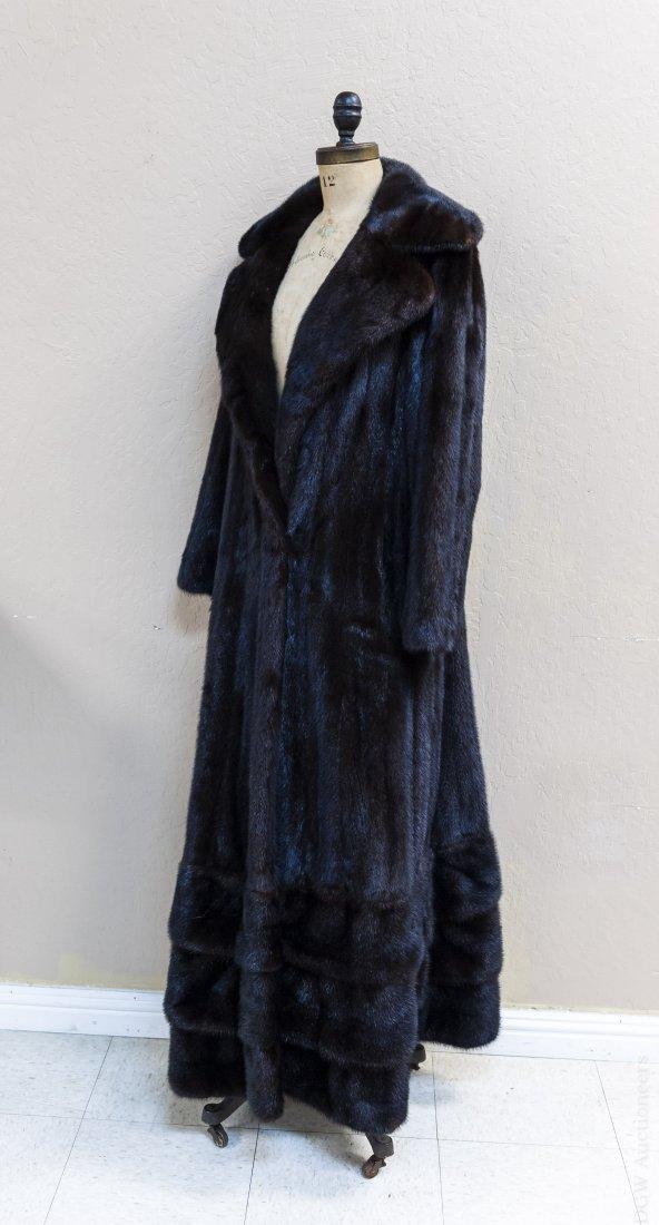 Ladies' Vintage Full Length Fur Coat.