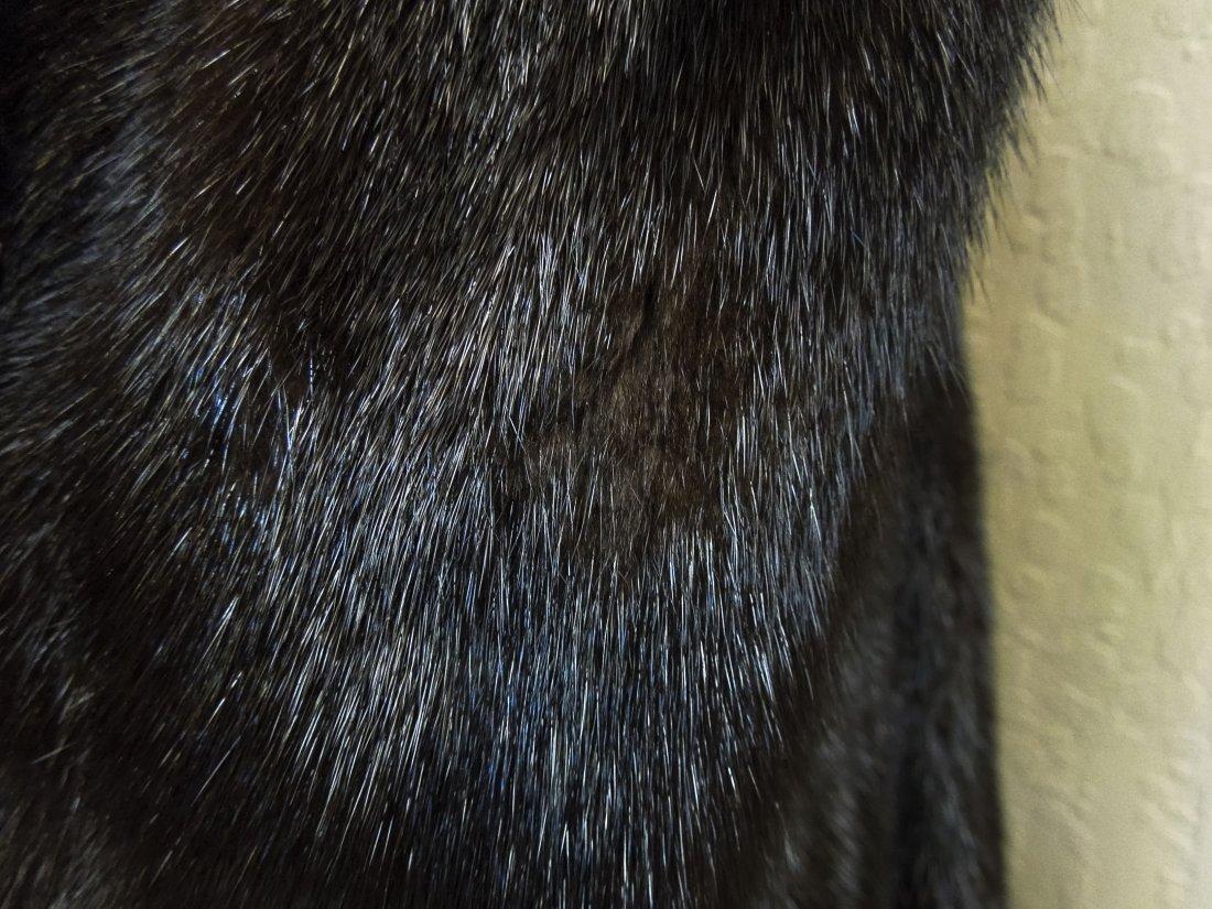 Ladies' Vintage Full Length Fur Coat. - 6