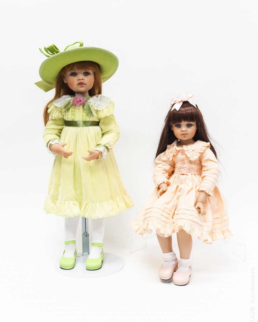 (2) Jan McLean Lucy & Bonnie Louise Dolls.