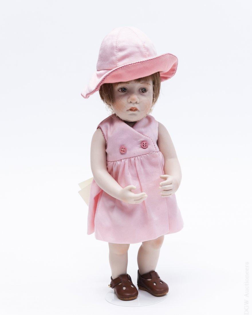 """Beatrice Perini """"Giulietta"""" Bisque Doll."""