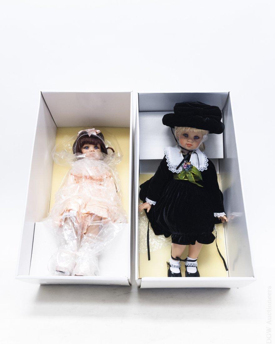 (2) Jan McLean Rose & Bonnie Louise Dolls.
