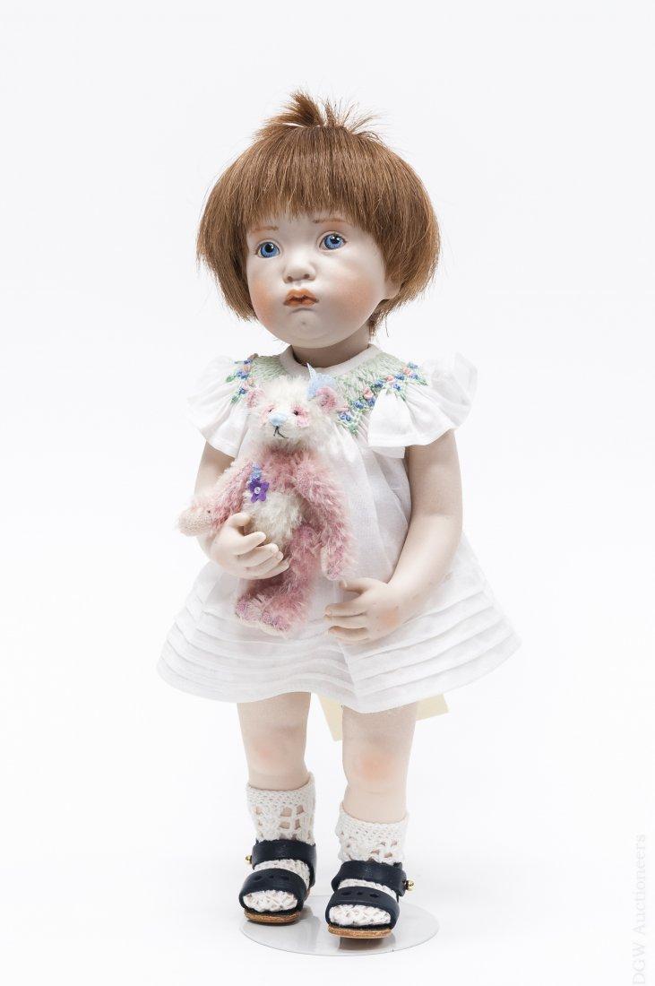 "Beatrice Perini ""Lunetta"" Bisque Doll."
