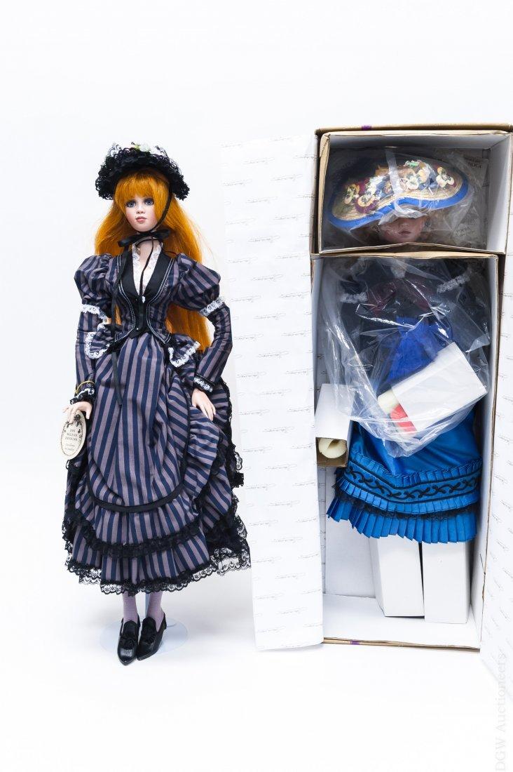 (2) Jan McLean Eliza Blue & Collette Dolls.