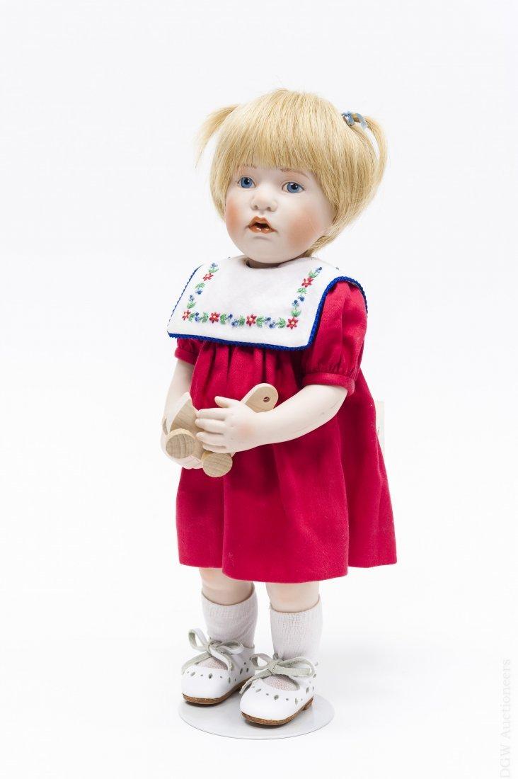 "Beatrice Perini ""Diletta"" Bisque Doll."