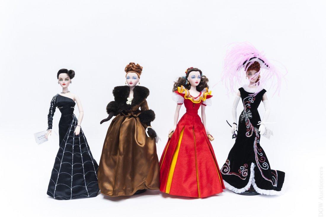 (4) Mel Odom Gene Marshall Fashion Dolls.