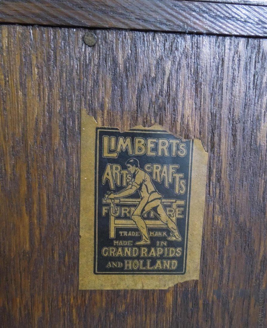 Limbert's Arts and Crafts Rare Drop Front Cabinet. - 10