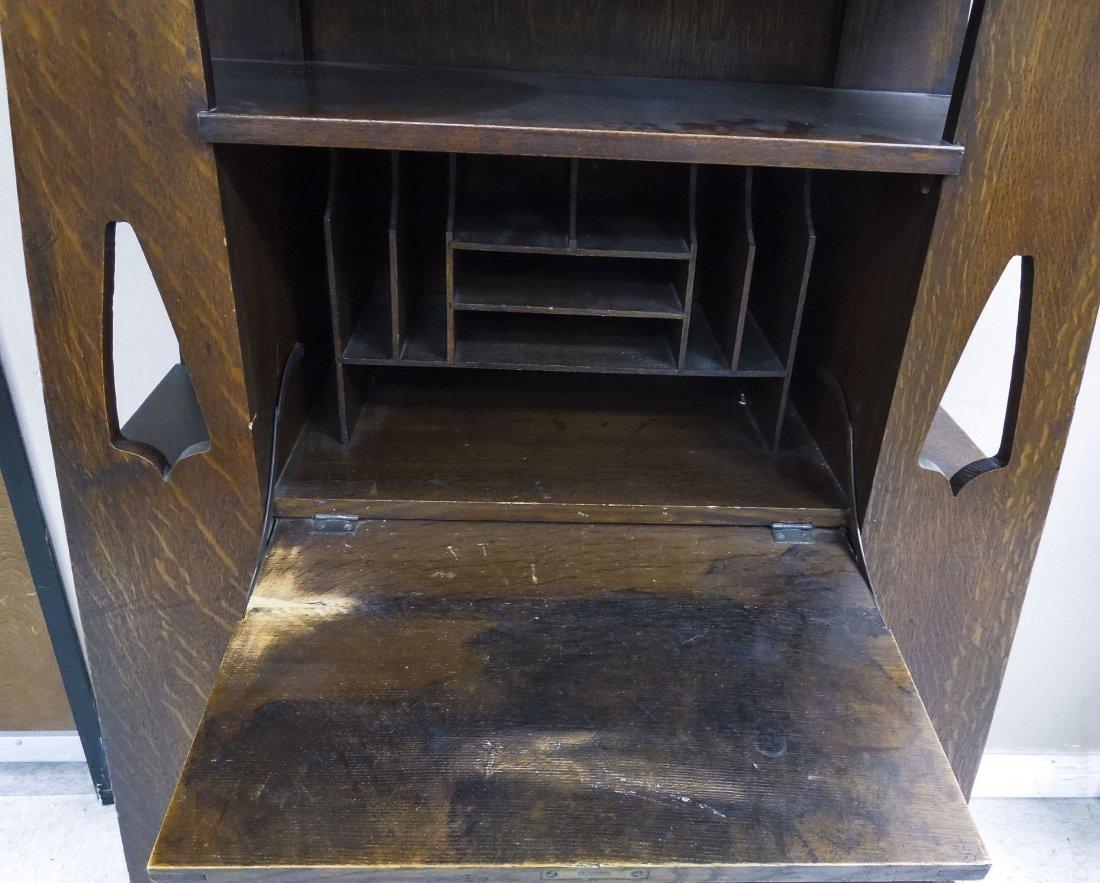 Limbert's Arts and Crafts Rare Drop Front Cabinet. - 6