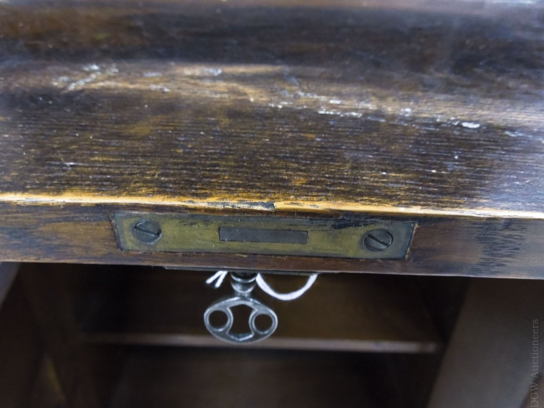 Limbert's Arts and Crafts Rare Drop Front Cabinet. - 7