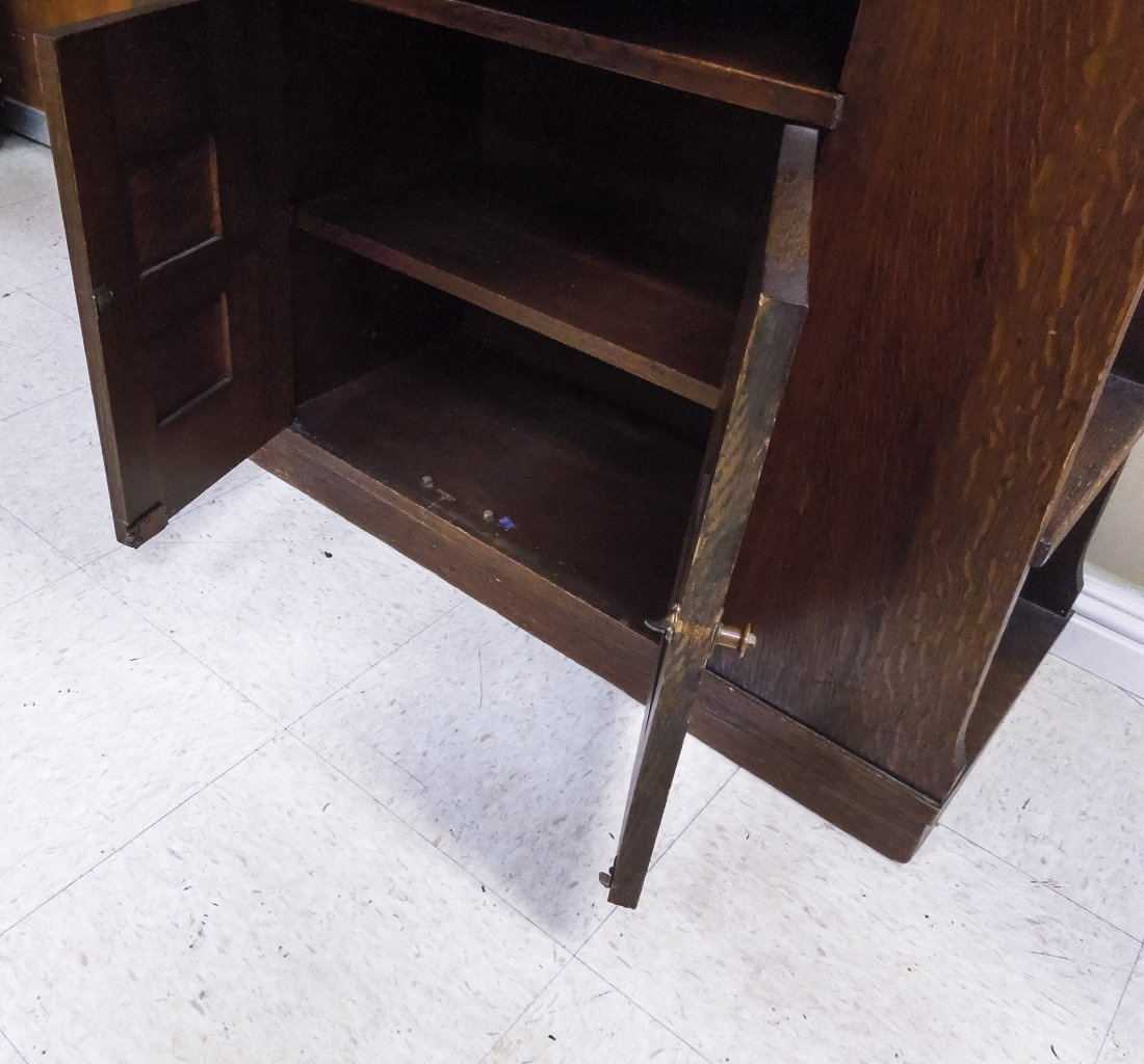 Limbert's Arts and Crafts Rare Drop Front Cabinet. - 8