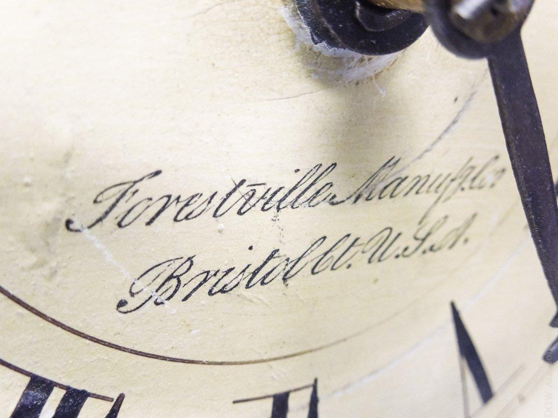 19th C. Forestville Clock Co. Acorn Shelf Clock. - 2