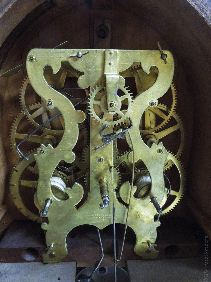 19th C. Forestville Clock Co. Acorn Shelf Clock. - 9