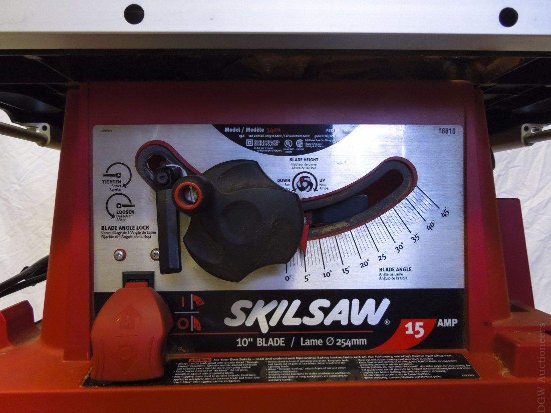Skil Saw 10 inch Table Saw. - 2