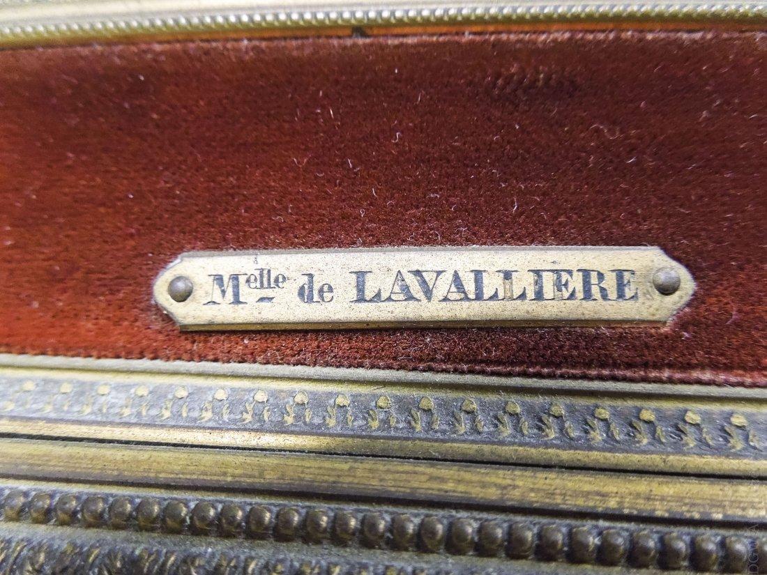 French Enameled Portrait Plaque. - 2
