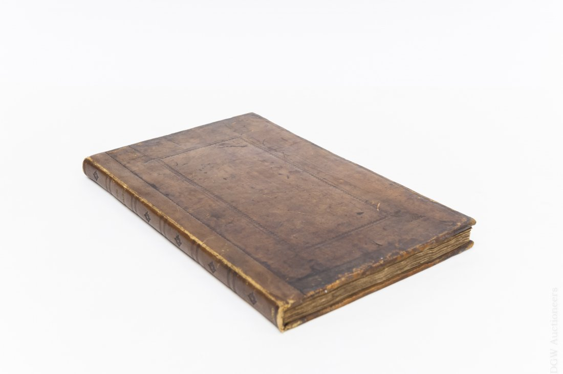 17th C. Leather Bound Volume,  Proceedings of