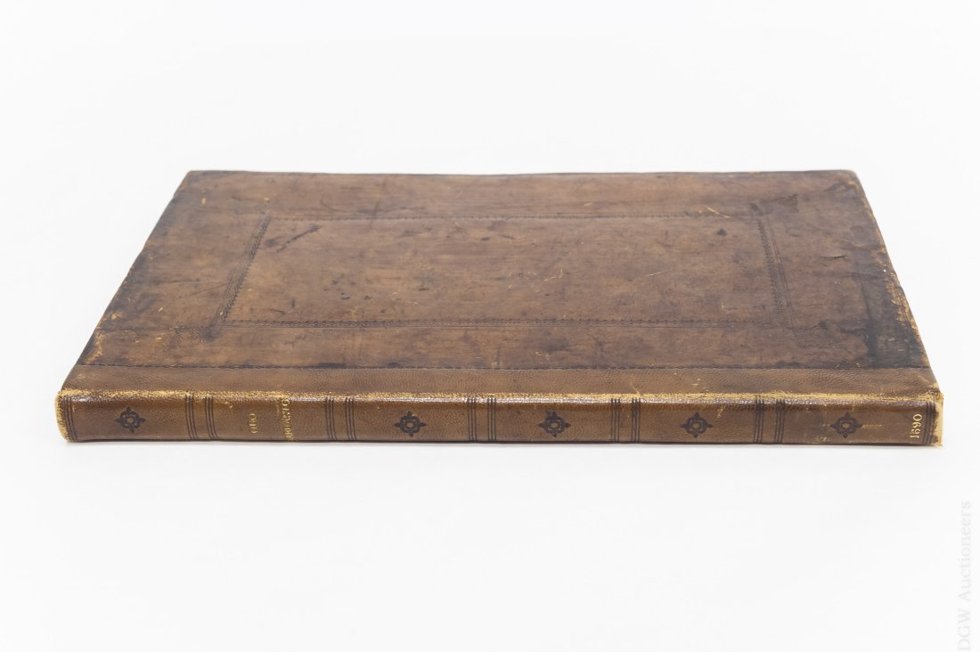 17th C. Leather Bound Volume,  Proceedings of - 2