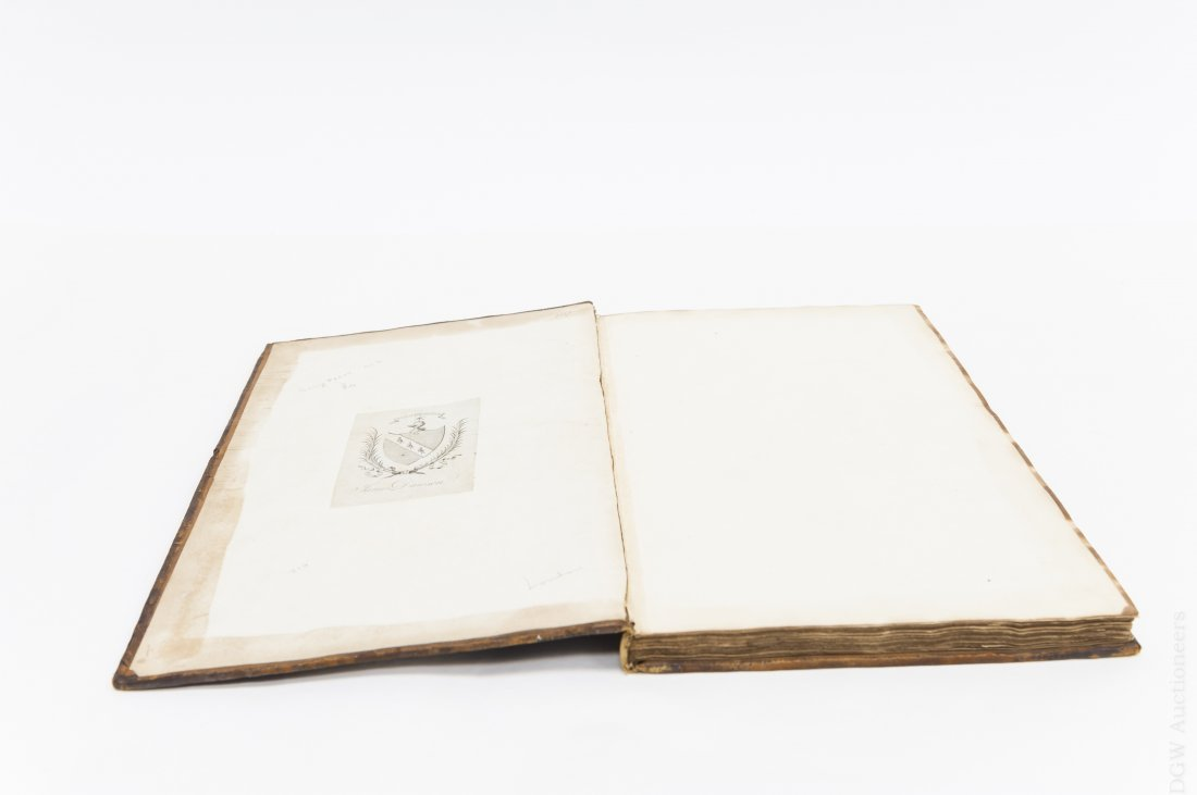 17th C. Leather Bound Volume,  Proceedings of - 3
