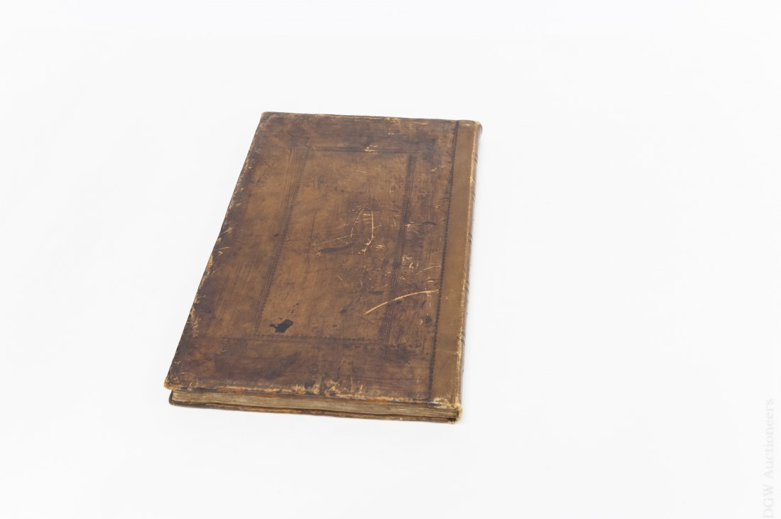 17th C. Leather Bound Volume,  Proceedings of - 6