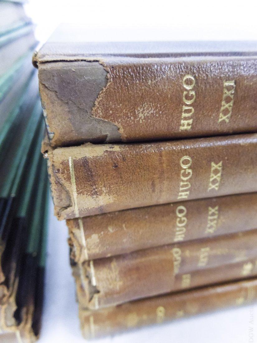 (17) Volumes, Victor Hugo's Works, circa 1893. - 2