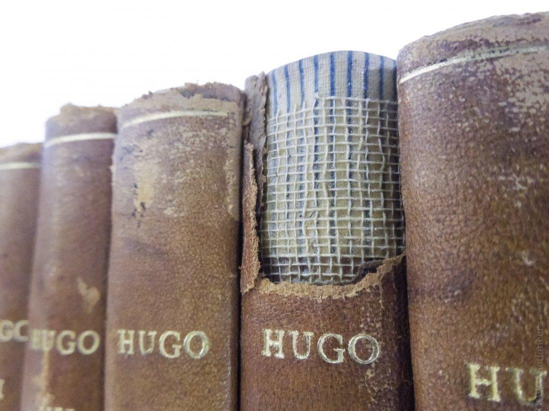 (17) Volumes, Victor Hugo's Works, circa 1893. - 3