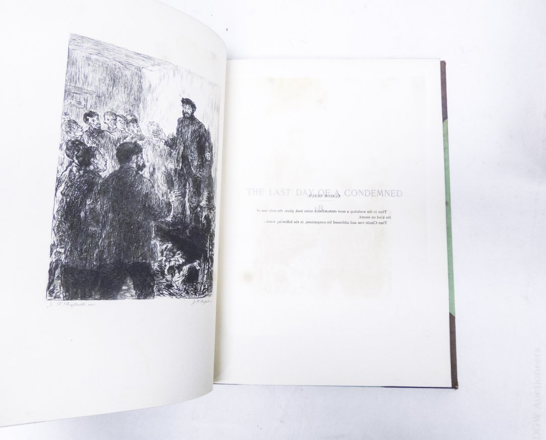 (17) Volumes, Victor Hugo's Works, circa 1893. - 4