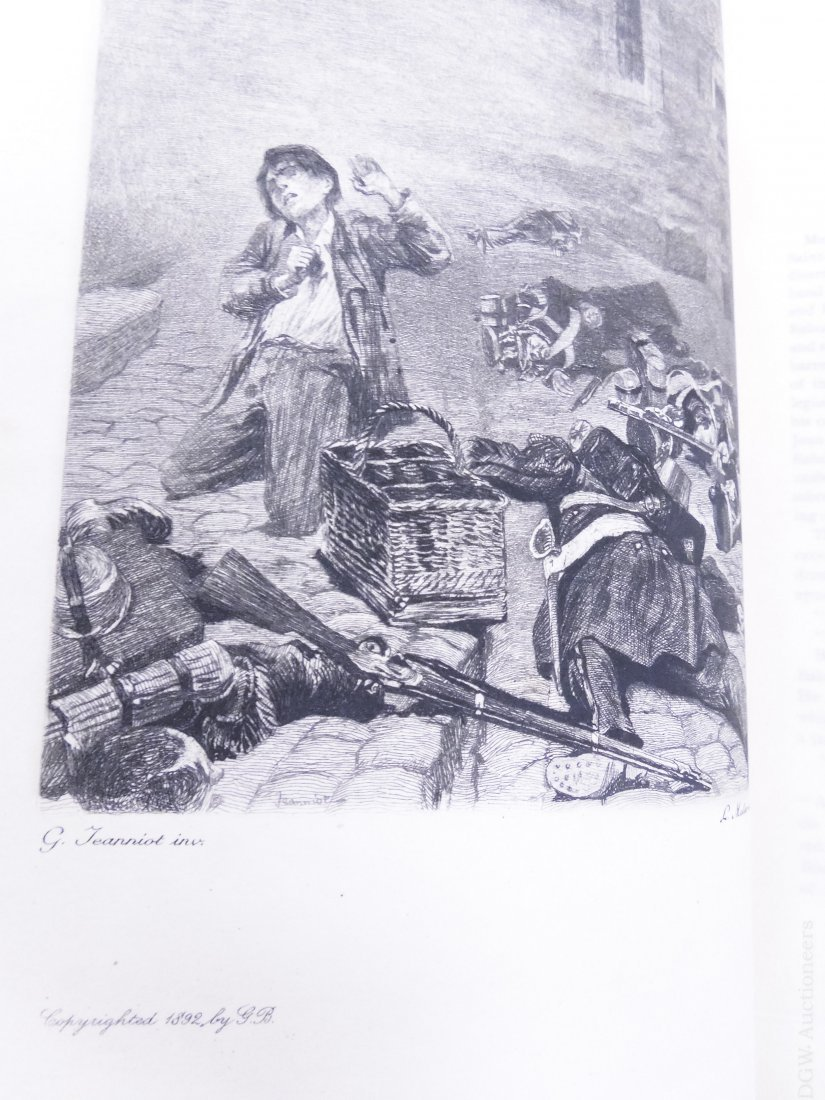 (17) Volumes, Victor Hugo's Works, circa 1893. - 6