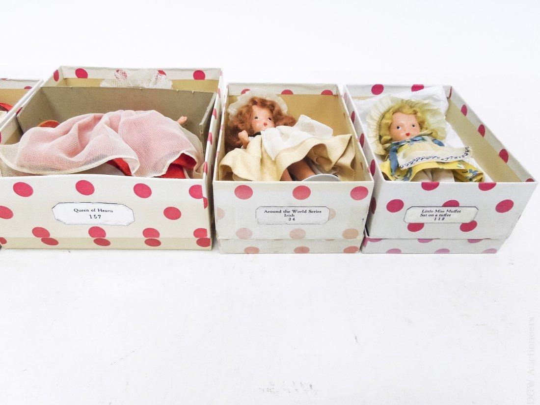 (6) Vintage Nancy Ann Storybook Dolls. - 3