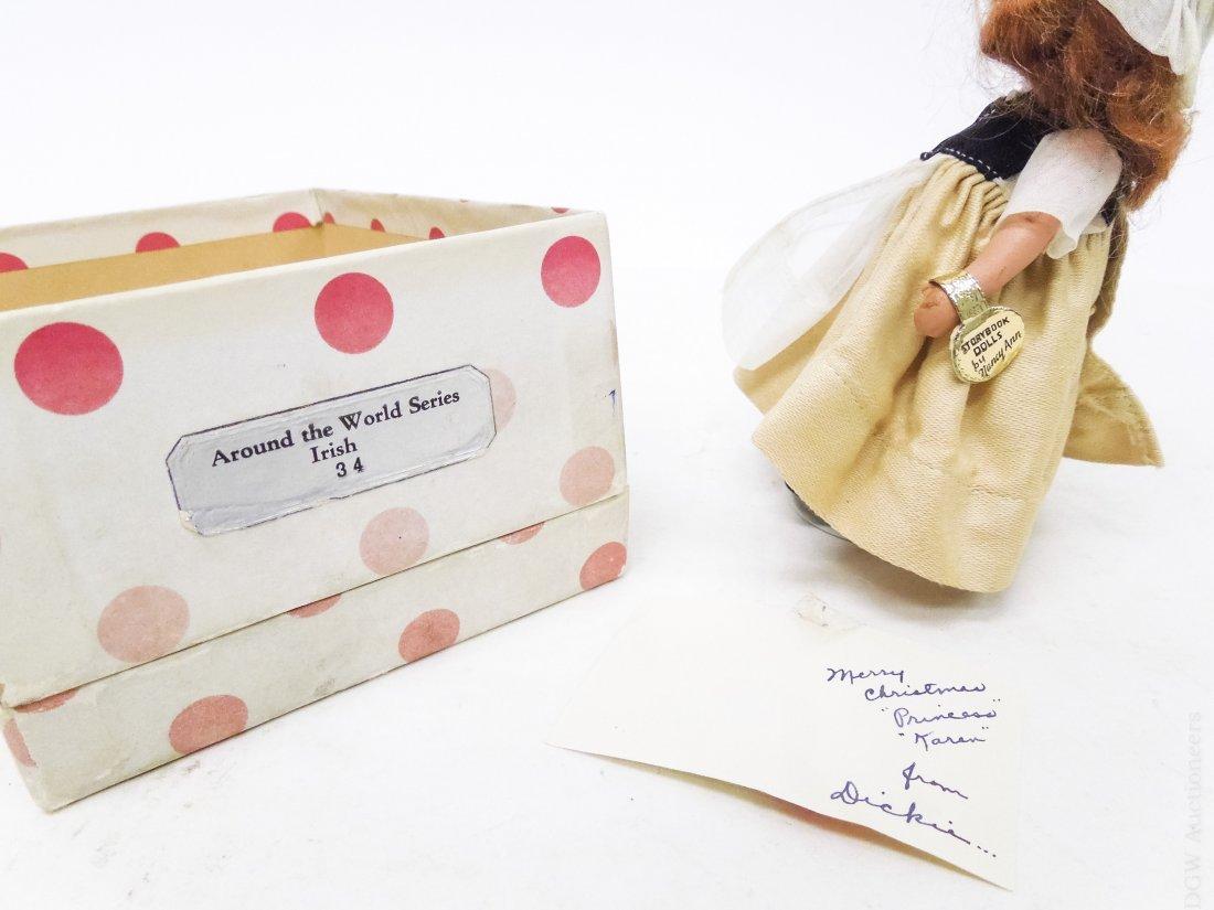 (6) Vintage Nancy Ann Storybook Dolls. - 8
